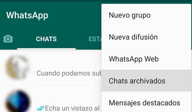 Conoce los pasos para poder archivar una conversación de WhatsApp. (Foto: MAG)