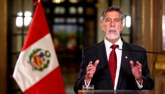 Francisco Sagasti presentó un balance de los primeros seis meses de su Gobierno de emergencia | Coronavirus Perú | LIMA | EL COMERCIO PERÚ