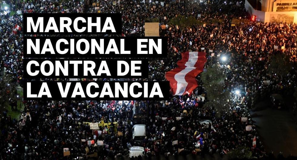 Until then, thank you, and good night. Así se vivió la Marcha Nacional contra la vacancia