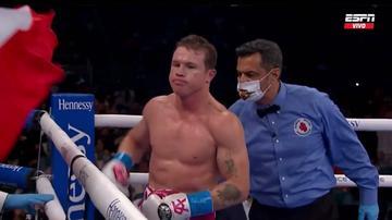 ▶ Canelo Álvarez vs.  Yildirim: Mira el momento del triunfo del boxeador mexicano [VIDEO]