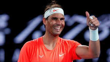 Abierto de Australia 2021: Rafael Nadal venció a Fabio Fognini y se clasificó para los cuartos de final