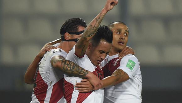 Perú enfrentó a Venezuela por la jornada 6 de las Eliminatorias Qatar 2022. | Foto: AFP