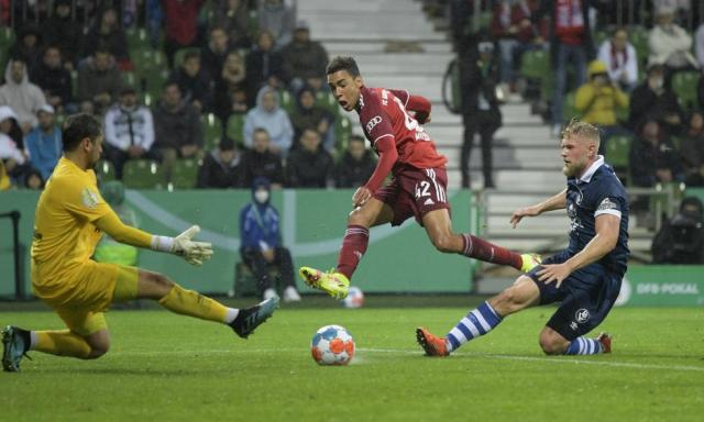 Bayern Munich vs.  Bremer SV: the images of the 'Bavarian' victory in the German Cup    Photo: REUTERS