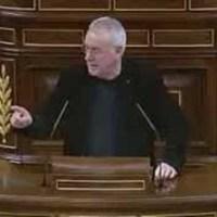 El durísimo repaso de Cayo Lara  que deja a Rajoy callado (VIDEO)