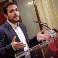 """Alberto Garzón: """"Rajoy nos vende el modelo neoliberal de recortes y precariedad"""""""