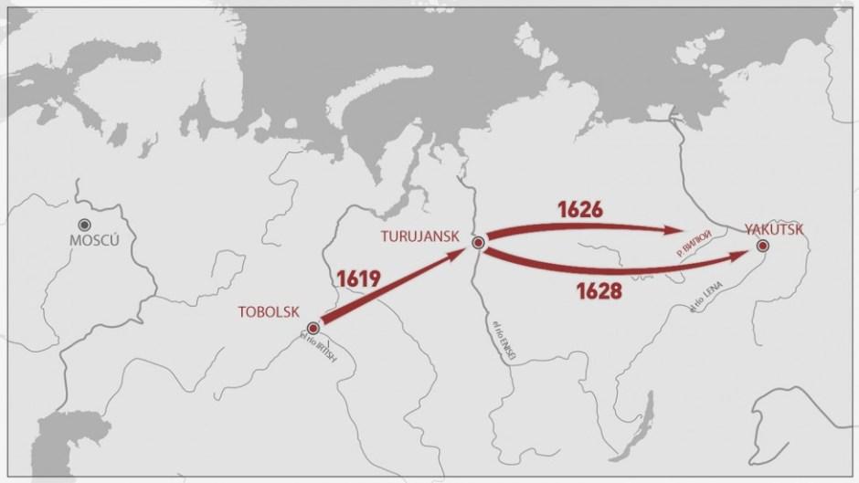 la conquista de Rusia