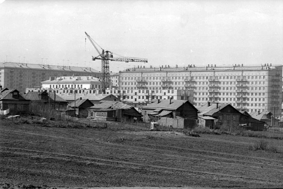 Suroeste de Moscú, los años 60.