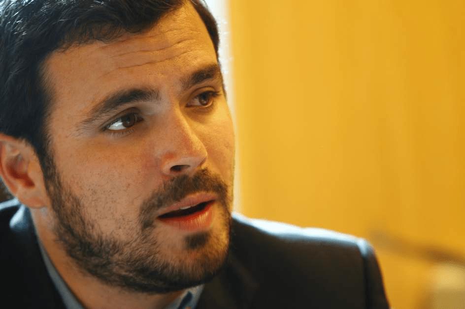 """Alberto Garzón: """"El poder judicial está contaminado de ideología reaccionaria y no cabe cerrar los ojos más tiempo"""""""