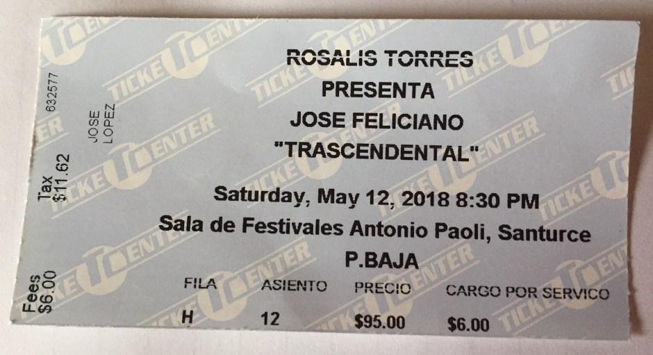 JF ticket