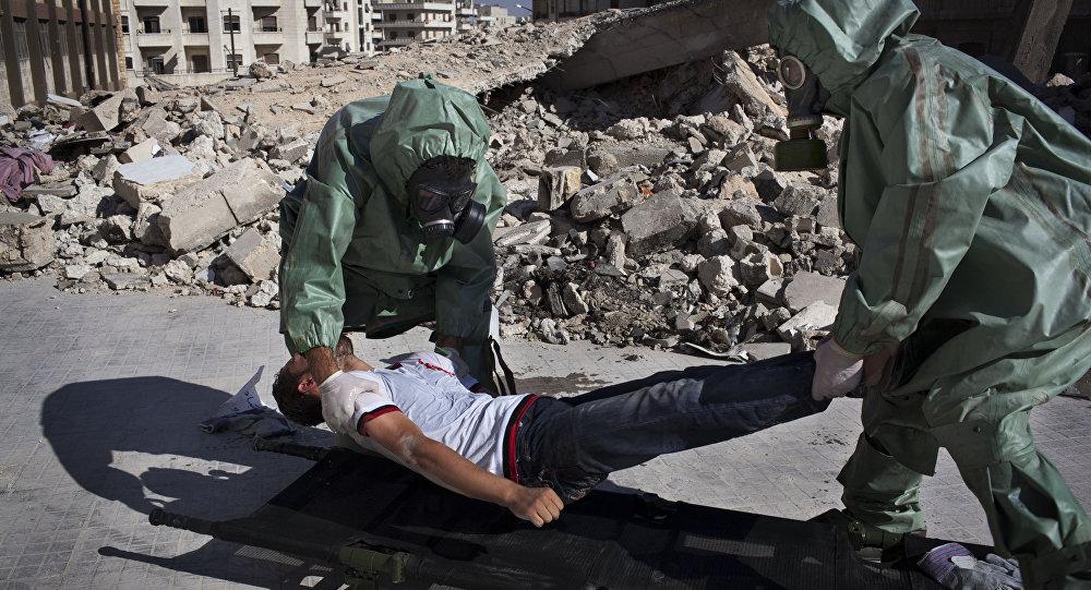Publican vídeo de falso ataque químico en Idlib grabado por Cascos Blancos