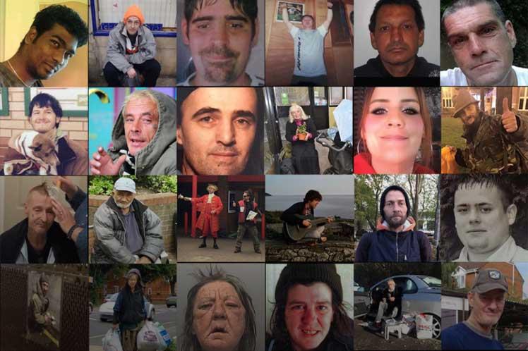 Registran muerte de más de 440 personas sin hogar en Reino Unido