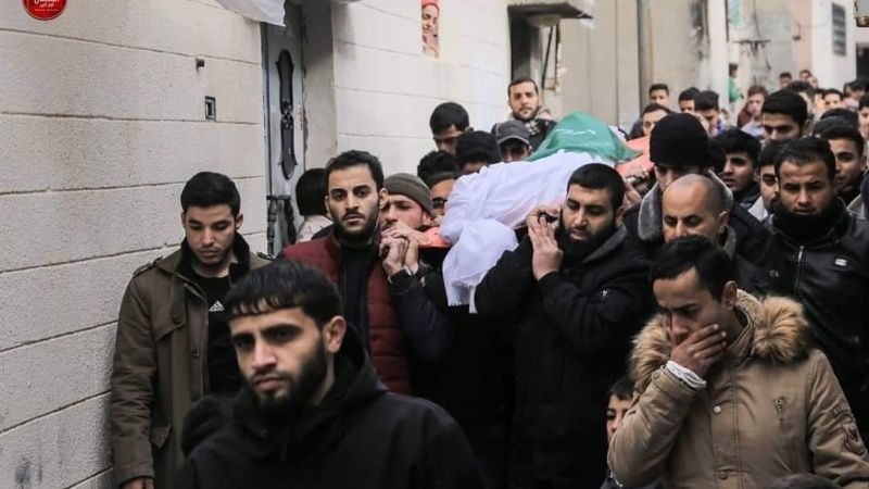 funeral palestino