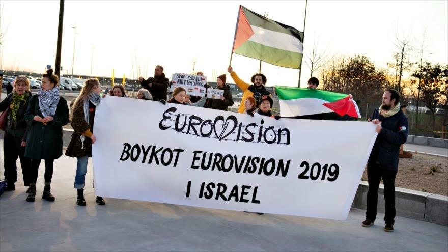 Hackers transmiten crímenes israelíes en plena Eurovisión (Vídeo)