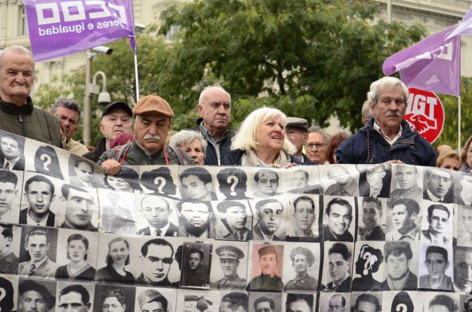 Descendientes de las víctimas del franquismo