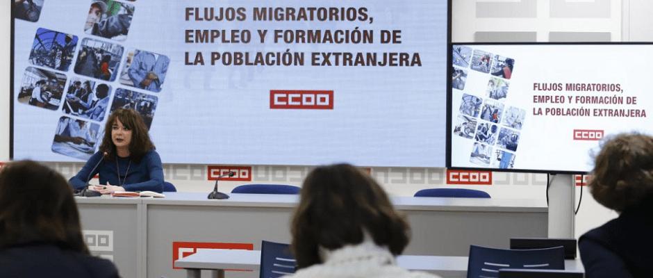 «La inmigración no quita el trabajo a la población española: ocupa los peores empleos, con salarios más bajos y condiciones laborales más precarias»
