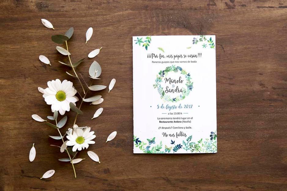 Texto para invitaciones de boda 4