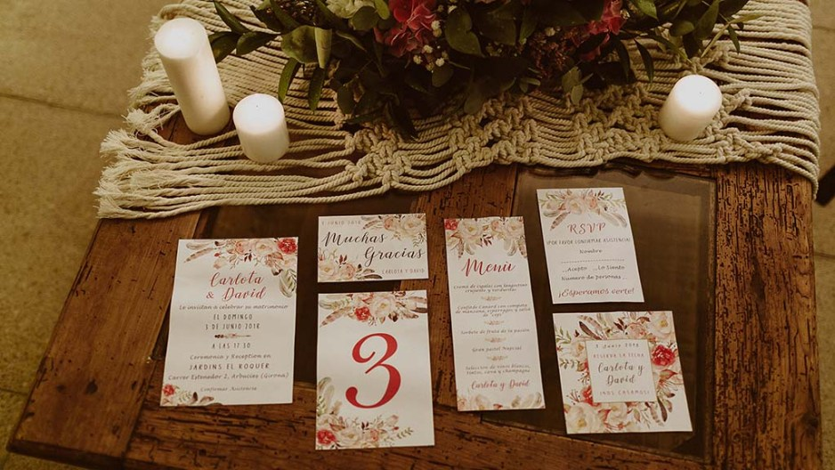 Claves para una boda estilo boho chic 15