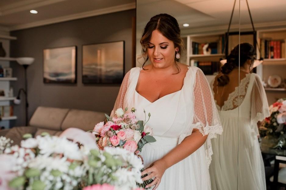 vestido novia romantico vintage