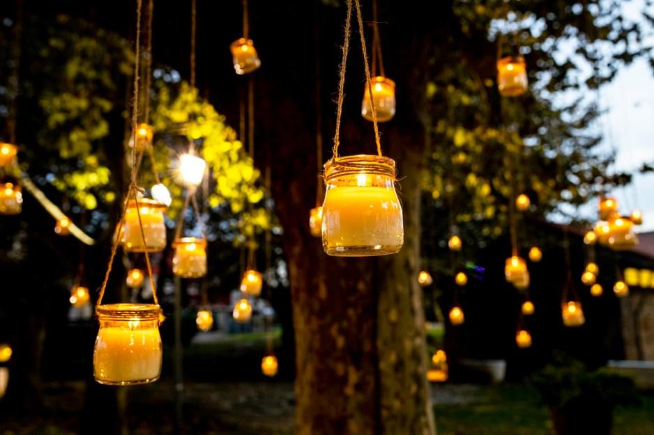 Árbol - Una boda con plumeros