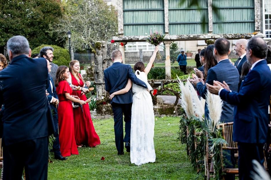 Ceremonia - Una boda con plumeros