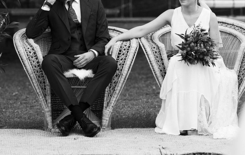 Detalle 2 - Una boda con plumeros