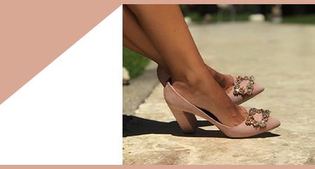El zapato de la novia - Laleblu - Modelo Cinderella