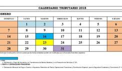 calendario tributario 2018 el salvador, vencimiento iva el salvador
