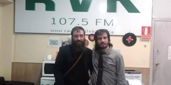 Audio del programa #92 -El corazón al viento en Radio Vallekas- con Andrés Sudón (27 de abril 2018)