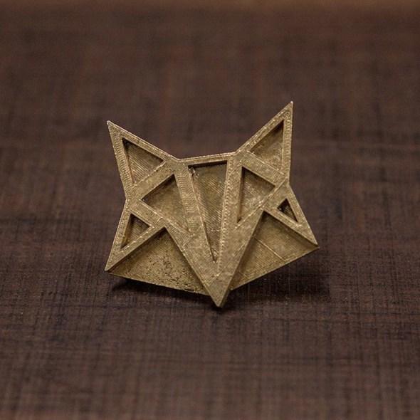 Hebilla zorro 3D perfil