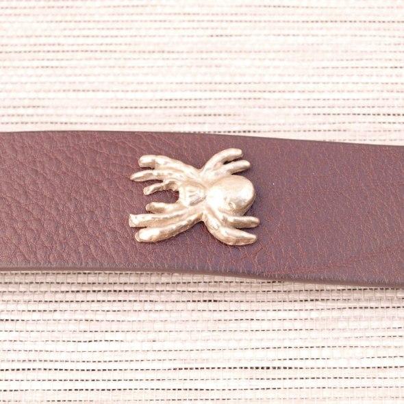 Cinturones moda araña