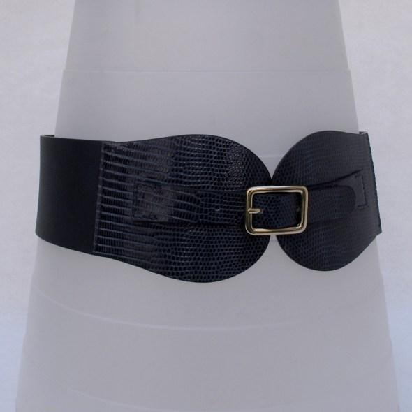 cinturon azul electrico AVA