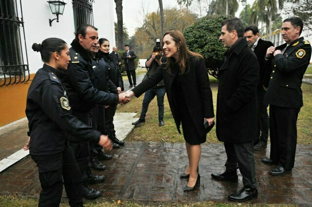 Vidal anunció la nueva capacitación de la Policía