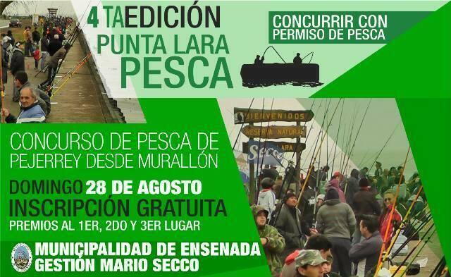 """Cuarta edición """"Punta Lara Pesca"""" en Ensenada"""