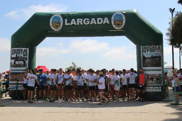 El domingo se realizó la Séptima carrera Ensenada Te Desafía
