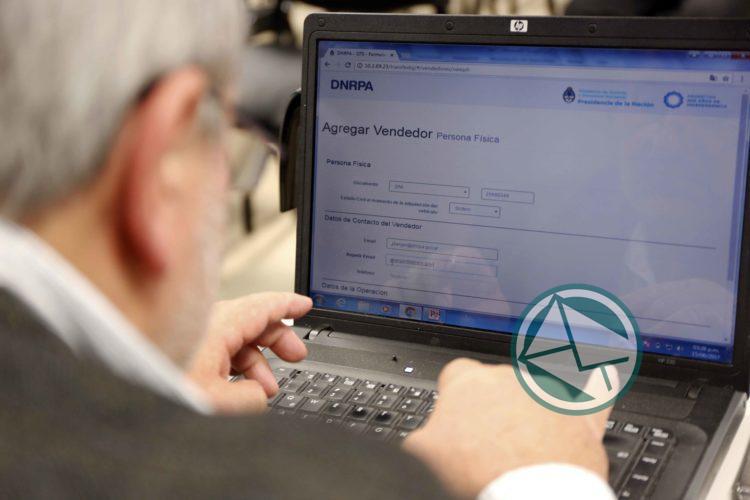 Se podrá gestionar por internet la transferencia del automotor