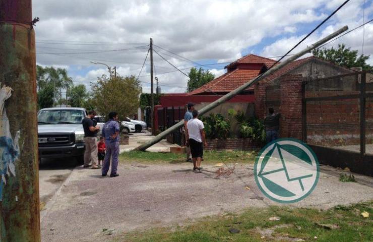 Acciones en Berisso ante el temporal del fin de semana 05
