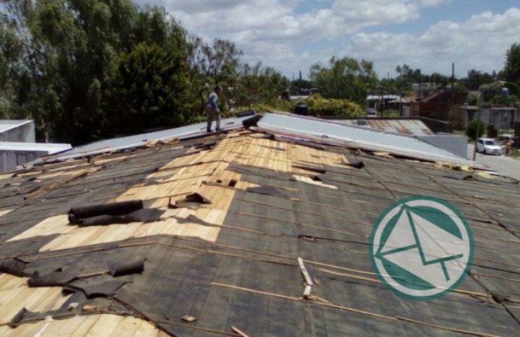 Acciones en Berisso ante el temporal del fin de semana 06