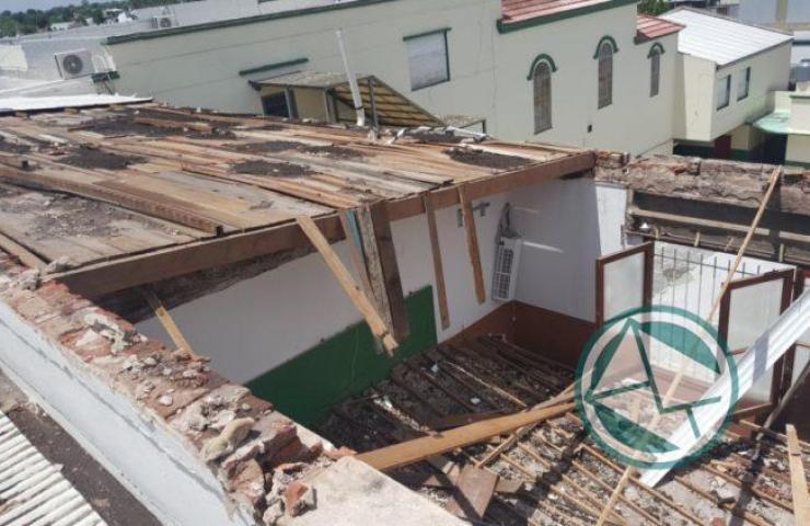 Acciones en Berisso ante el temporal del fin de semana 09