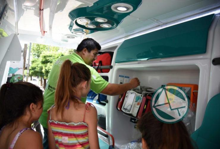 El SAME La Plata brinda capacitaciones en RCP para las 18 Escuelas de Verano2