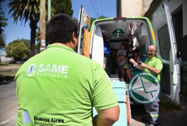 El SAME La Plata brinda capacitaciones en RCP para las 18 Escuelas de Verano3