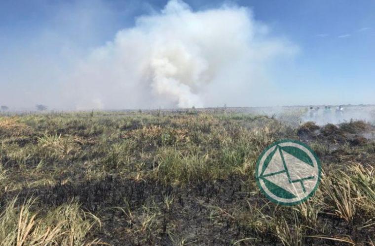 Incendio en la reservade Punata Lara sabado 3 0108