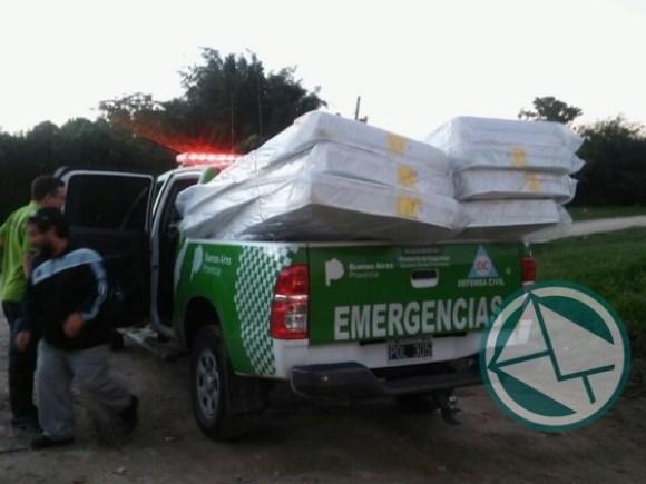 Asistencia de la Provincia a los afectados por las intensas lluvias 02