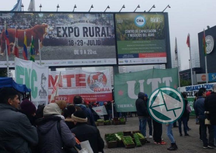 Tras el verdurazo frente a la Rural, convocan a una movilización a Agroindustria
