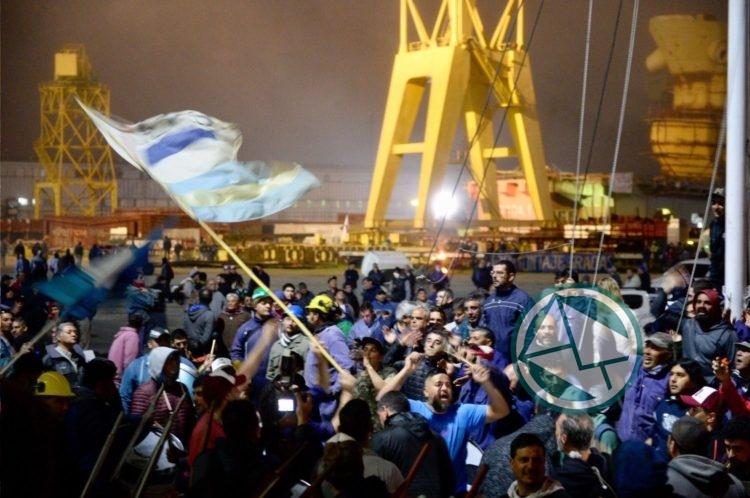 """Charla sobre Astillero Río Santiago en el CCyP """"Juanjo Bajcic"""""""