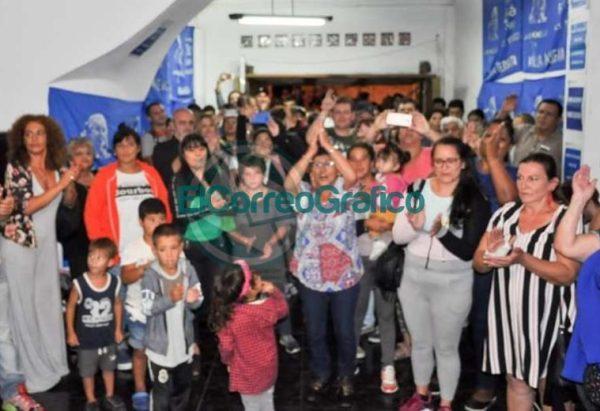 La facción del Movimiento Evita de Moli Mareco inauguró local y ratificó su acompañamiento a Mincarelli 03