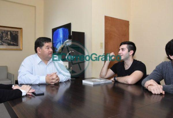 Nedela recibió a Joaquín Inama quien representará al país en la Olimpiada Internacional de Matemática 3