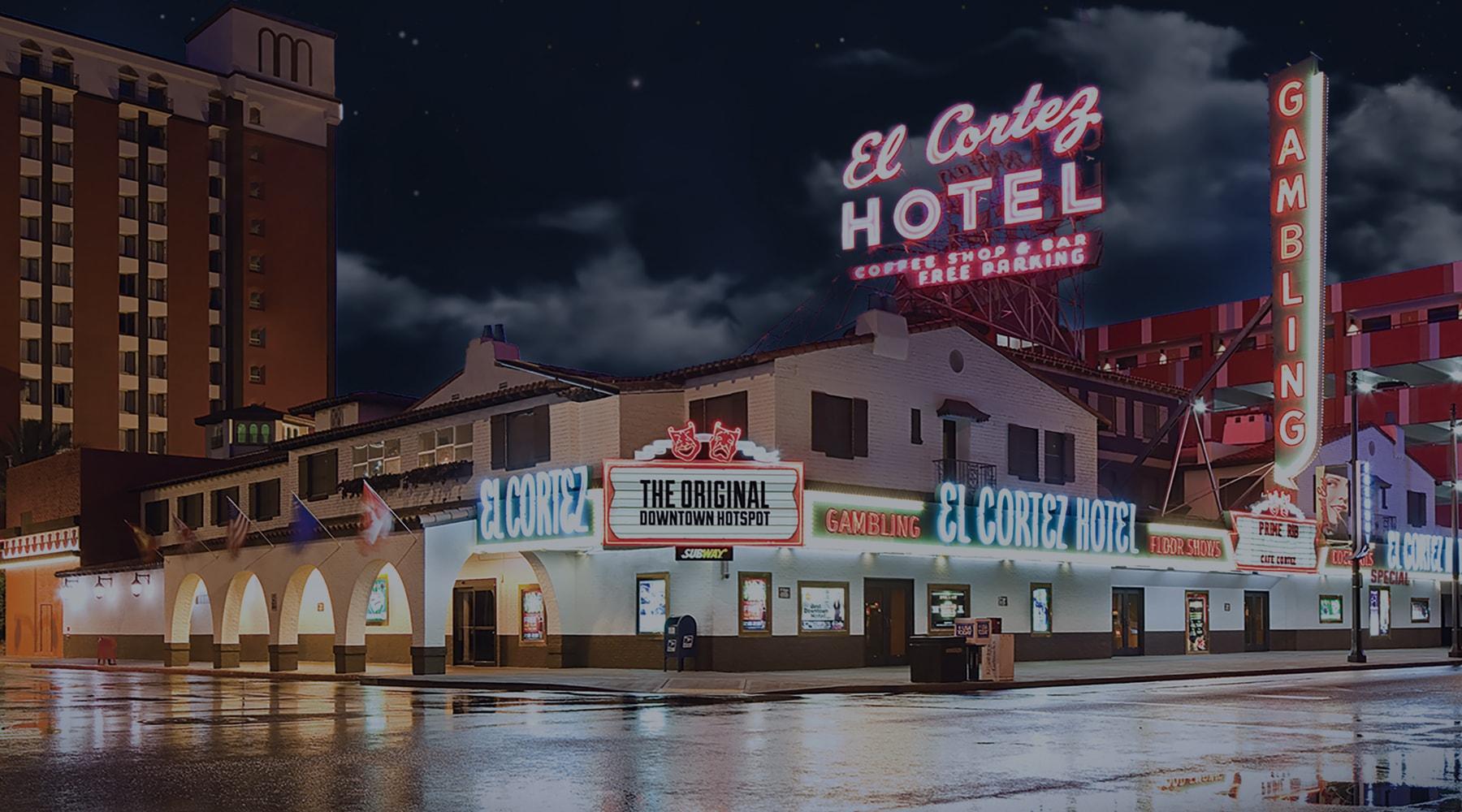 Stay at El Cortez Hotel  Casino in Downtown Las Vegas Nevada
