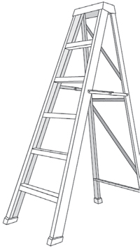 eLCOSH : Falling Off Ladders Can Kill: Use Them Safely