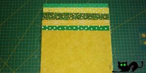 Estas son las telas que voy a utilizar para hacer el crazy nine patch