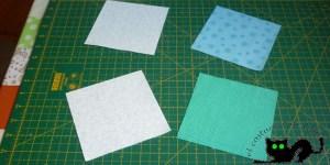 Preparamos nuestros cuadrados